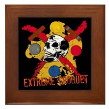 Extreme Croquet Framed Tile