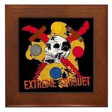 Extreme Croquet Framed Tile