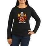 Limpo Family Crest Women's Long Sleeve Dark T-Shir
