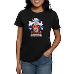 Lencastre Family Crest Women's Dark T-Shirt