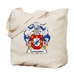Lencastre Family Crest Tote Bag