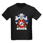 Lencastre Family Crest Kids Dark T-Shirt