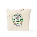 Lagarto Family Crest Tote Bag