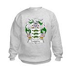 Lagarto Family Crest Kids Sweatshirt