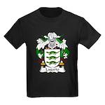 Lagarto Family Crest Kids Dark T-Shirt