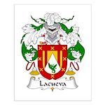 Lacueva Family Crest Small Poster