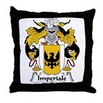 Imperiale Family Crest  Throw Pillow