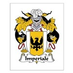 Imperiale Family Crest  Small Poster