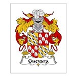 Guevara Family Crest Small Poster