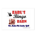 Earls Bingo Barn Postcards (Package of 8)