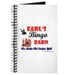 Earls Bingo Barn Journal