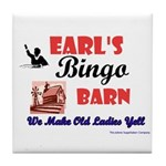 Earls Bingo Barn Tile Coaster