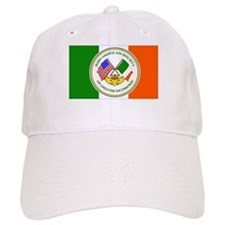 IAS Baseball Cap w/ logo & Irish Flag