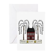 Faith,Hope,Love Greeting Card