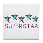 SUPERSTAR Tile Coaster