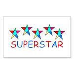 SUPERSTAR Rectangle Sticker