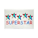 SUPERSTAR Rectangle Magnet (10 pack)