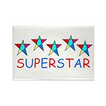 SUPERSTAR Rectangle Magnet (100 pack)