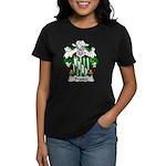Franca Family Crest Women's Dark T-Shirt