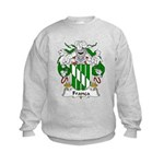 Franca Family Crest Kids Sweatshirt