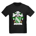Franca Family Crest Kids Dark T-Shirt