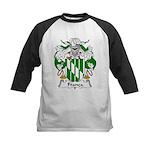 Franca Family Crest Kids Baseball Jersey