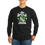 Franca Family Crest Long Sleeve Dark T-Shirt