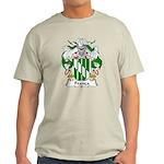 Franca Family Crest Light T-Shirt