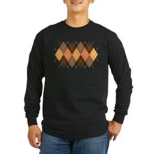 Chocolate Argyle T