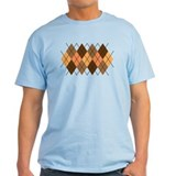 Chocolate Argyle T-Shirt