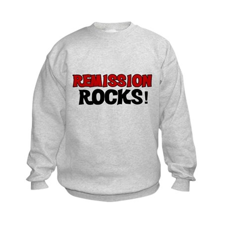Remission Rocks Kids Sweatshirt