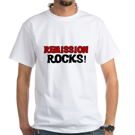 Remission Rocks White T-Shirt