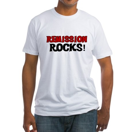 Remission Rocks Fitted T-Shirt