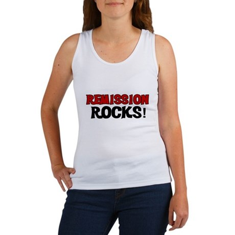 Remission Rocks Women's Tank Top