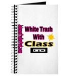 JTP Logo White Trash With Cla Journal