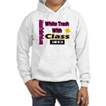 JTP Logo White Trash With Cla Hooded Sweatshirt