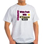 JTP Logo White Trash With Cla Ash Grey T-Shirt