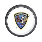 Sausalito Police Wall Clock