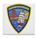 Sausalito Police Tile Coaster