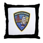 Sausalito Police Throw Pillow