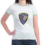 Sausalito Police Jr. Ringer T-Shirt