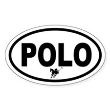Polo Oval Decal