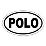 Basic Polo Oval Decal