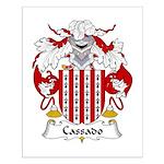 Cassado Family Crest Small Poster