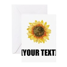 Sunflower Personalize It! Greeting Cards
