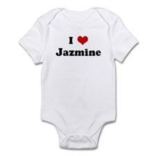 I Love Jazmine Infant Bodysuit