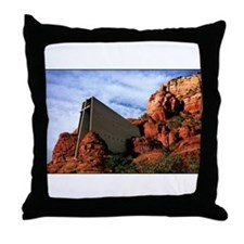 Chapel of the Holy Cross #R812 Throw Pillow