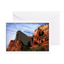Chapel of the Holy Cross #R812 Greeting Cards (20)