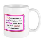 Serenity Prayer Red Mug