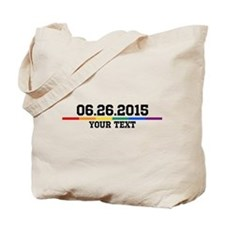 Personalized 06.26.2015 Tote Bag